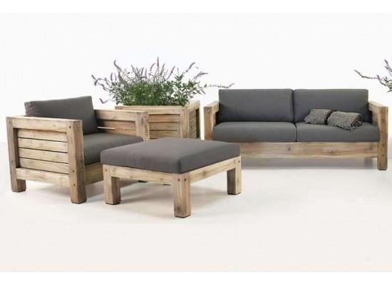 Фото 1. Комплект наружной деревянной мебели LODGE