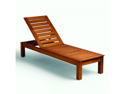 Деревянный Шезлонг Chocolate - 1037