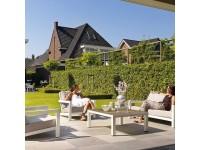 Садовая мебель из дерева Lounge White