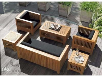 Садовая мебель из дерева Plans Living
